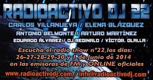 RADIOACTIVO DJ 22-2014