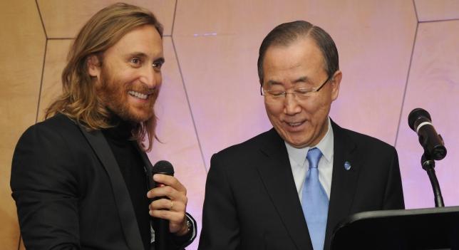 DAVID GUETTA - UNICEF 2014