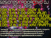 SESIONES RADIOACTIVO DJ 2014
